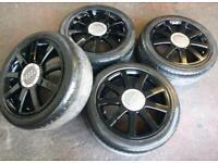 """17"""" Audi alloy wheels a4 a5 vw caddy golf ..5 x 112"""