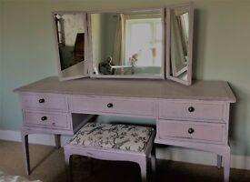 Dressing table French / shabby chic / vintage style
