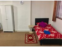 LARGE SHARED ROOM AVAILABLE IN SOUTHALL, WEST LONDON