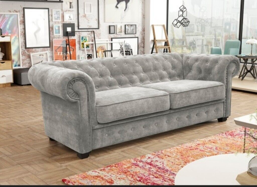 Exclusive Fabric Chesterfield Sofas Special Whole Offers Based