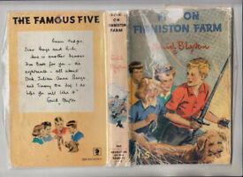 Enid Blyton Five On Finniston Farm 1965 HB Jacket Free UK p+p!