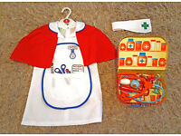 Girls Early Learning Centre Nurse outfit and Medical Case