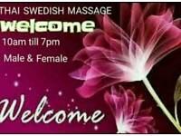 Thai swedish oil massage for relaxing