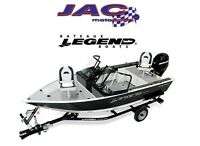 2015 Legend Boats Ltd 15 AllSport Mercury 20 EL 39,00$*/Sem 500$