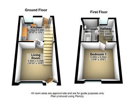 A Modern and Large 1 Bedroom Apartment - STOKE-ON-TRENT