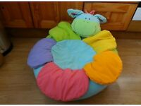 Early Learning Centre Blossom Farm Plush INFLATABLE BABY NEST/SUPPORT