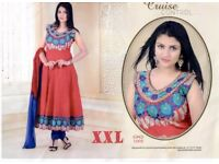 NEW READY MADE COTTON SALWAR KAMEES ( SIZE XXL )