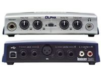 Lexicon Alpha USB Audio Interface £30