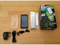 HTC One M7, 32GB, Unlocked, Excellent Condition + Extras
