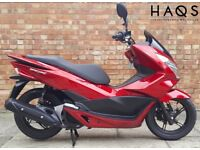 HONDA PCX 125cc (15 REG), ONE OWNER, ONLY 427 MILES ON THE CLOCK!