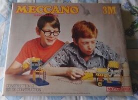 MECCANO 3M SET from 70's