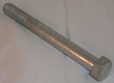 38 X 4 Galvanized Hex Bolts 50 Bulk Wholesale Lot