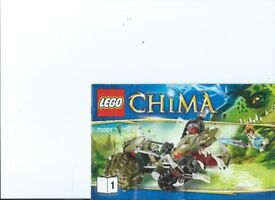 Lego Kit 70001 Chima: Crawleys Claw Ripper See description LOW PRICE