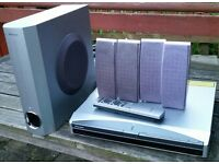 Pioneer DVD player xv-dv313 home cinema surround sound system. In good working order.