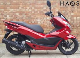 Honda PCX 125cc (16 REG), As New, Only 550 miles!
