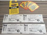 Carfest South 2018 camping Tickets