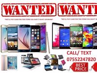 WANTED - ALL IPHONES SAMSUNG GALAXY SMARTPHONES LAPTOPS IPADS COMPUTERS TOP CASH PAID SAME DAY!!!