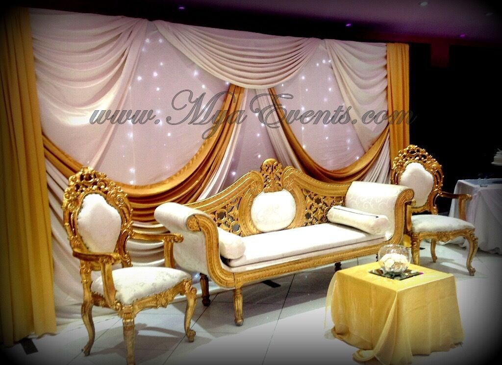 Nigerian catering services 14pp wedding reception for Wedding reception decoration hire
