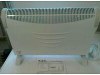 New Glen convector heaters.