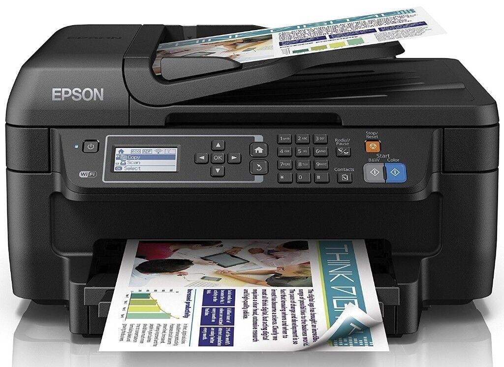 Printer Epson Workforce Colour All-in-One Wi-Fi Print/Scan/Copy/Fax BNIB Excellent Spec Bargain!