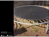 10ft trampoline for sale still plenty of fun