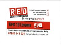 Red Driving lessons
