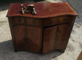 sideboard retro style cabinet with drawers and door