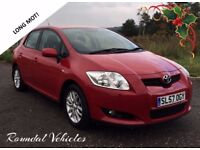 VERY CLEAN Toyota Auris 1.6 TR RED, history, FRESH 12 month mot, LOVELY LITTLE HATCH