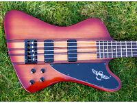 Thunderbird Pro-V 5 string epiphone bass guitar
