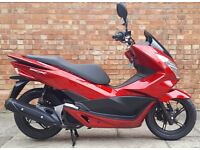 Honda PCX 125 (65 REG), Showroom condition with ONLY 300 MILES!