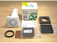 Xpelair DX 100S ( Standard wall switch version ) 4 Inch ( 100mm) Standard Bathroom Extractor Fan Kit
