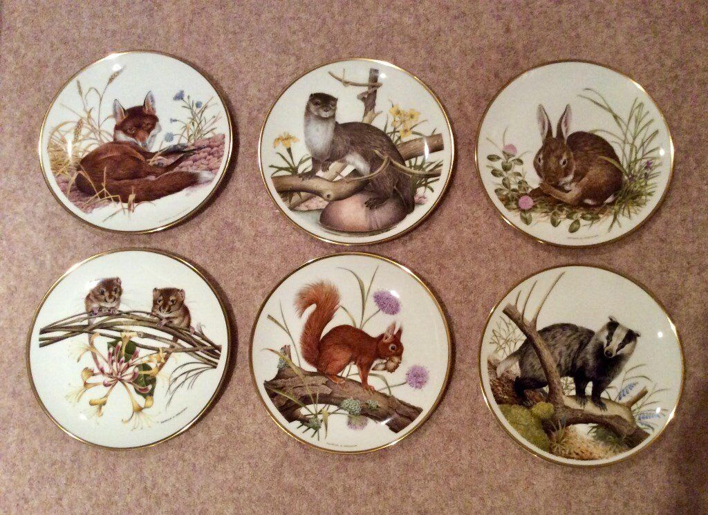 Wedgewood Spink Collectors plates