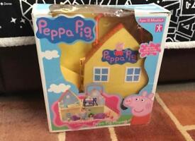 Peppa pig original carry along house