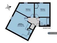 2 bedroom flat in Ashville Way, Wokingham , RG41 (2 bed)