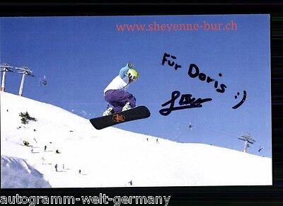 Sheyenne Bur TOP AK Original Signiert Snowboard +A 61312