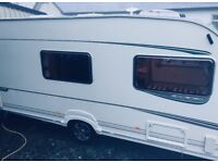 Abbey GTS 416 4/5 berth caravan with awning 16ft, Year 2005