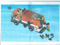 Lego Kit 7991 Refuse Lorry complete. Fine looking kit. Back lifts up