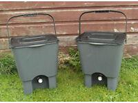 Pair of Bokashi Bins (Home Composting).