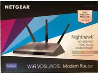 Netgear D7000 modem and wireless router