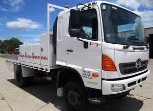 Hino FT 1022-500 Series Hino FT 4x4 1022 500 series Service Body Glanmire Gympie Area Preview