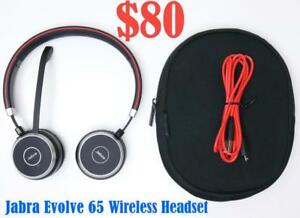 Jabra Evolve 65 MS Stereo Wireless Headset