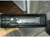 Sony xplod with aux port