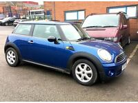 MINI ONE 1.4, MOT 11 MONTHS, MILEAGE 57000, JUST SERVICED, HPI CLEAR