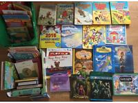 Job Lot Collection approx 50 Childrens Books Annuals Topper Rupert Muppet Show Bash St Dr Who