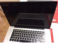 MacBook Pro 15-inch Mid 2011 intel core i5, 8GB RAM, 320GB Hard Drive.A grade. ready to use