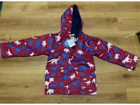 Hatley Kids waterproof Raincoat winter Jacket Brand New & Tagged 12 years School outdoors
