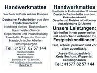 Herdanschluss Elektro Im Kreis Bochum Bochum - Bochum-Mitte Vorschau