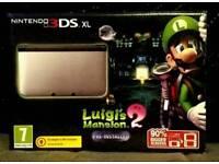 Nintendo 3DS XL Luigi's Mansion Edition Console