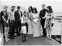 Amateur wedding photographer