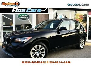 2014 BMW X1 xDrive28i |LEATHER SUNROOF|ACCIDENT FREE
